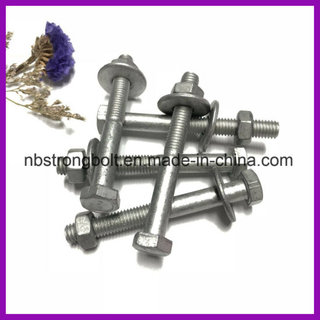 Hex Bolt Customerized com fábrica de parafusos Dacromet 1000hours / China, China manufactuer bolt
